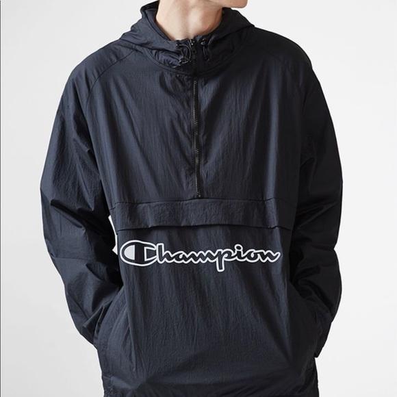 8641f5c7bf21 Champion Manorak Packable Half Zip Anorak